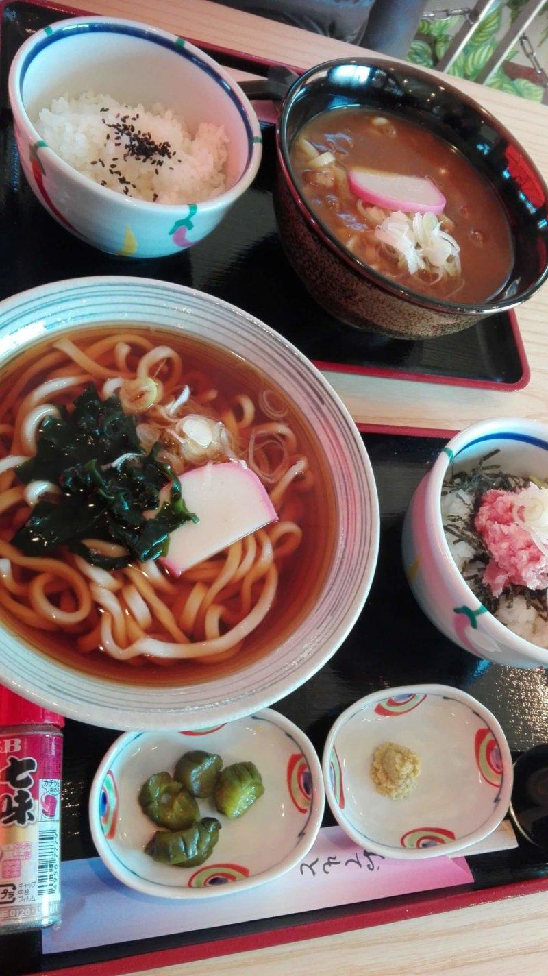 伊豆シャボテン動物公園の和食処 花むすびで食べた料理