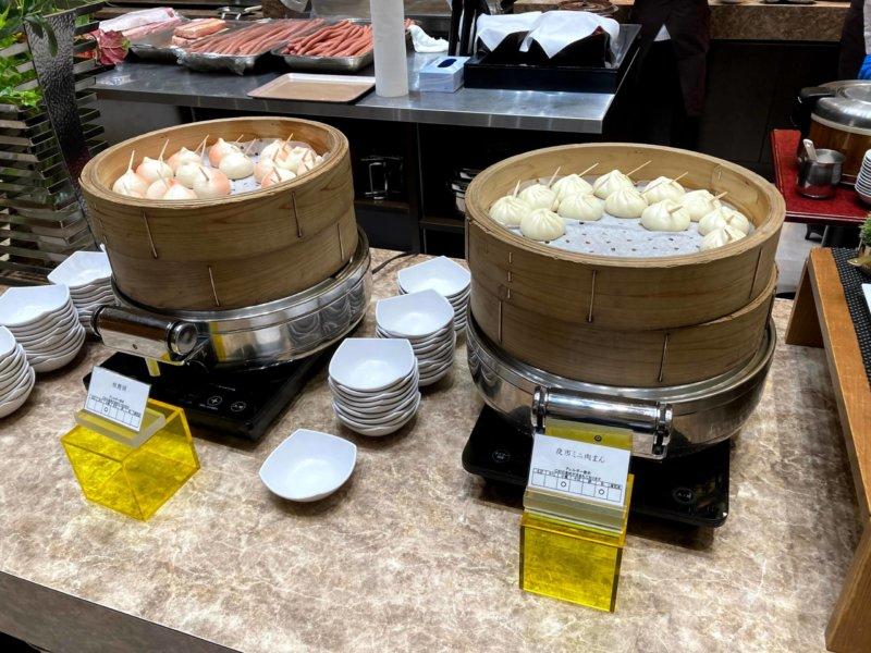 ホテル瑞鳳朝食ビュッフェの飲茶