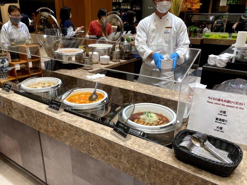 ホテル瑞鳳夕食バイキングの中華料理