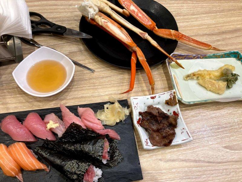 ホテル瑞鳳夕食バイキングで取って来た料理