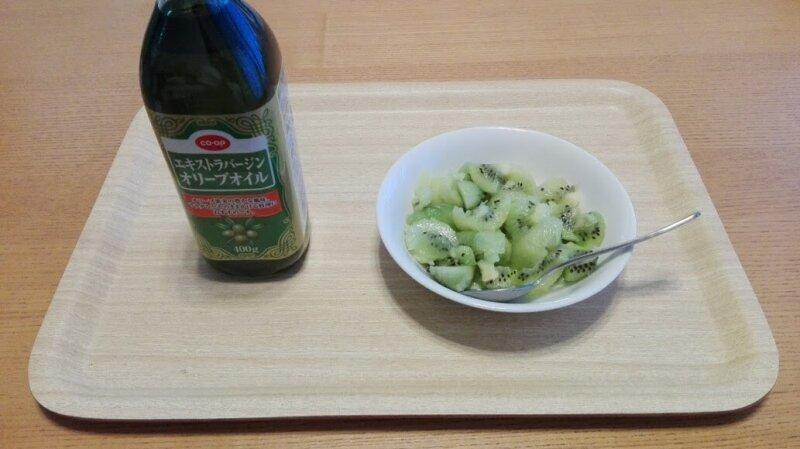 便秘解消法その2 朝食前のキウイ+オリーブオイル