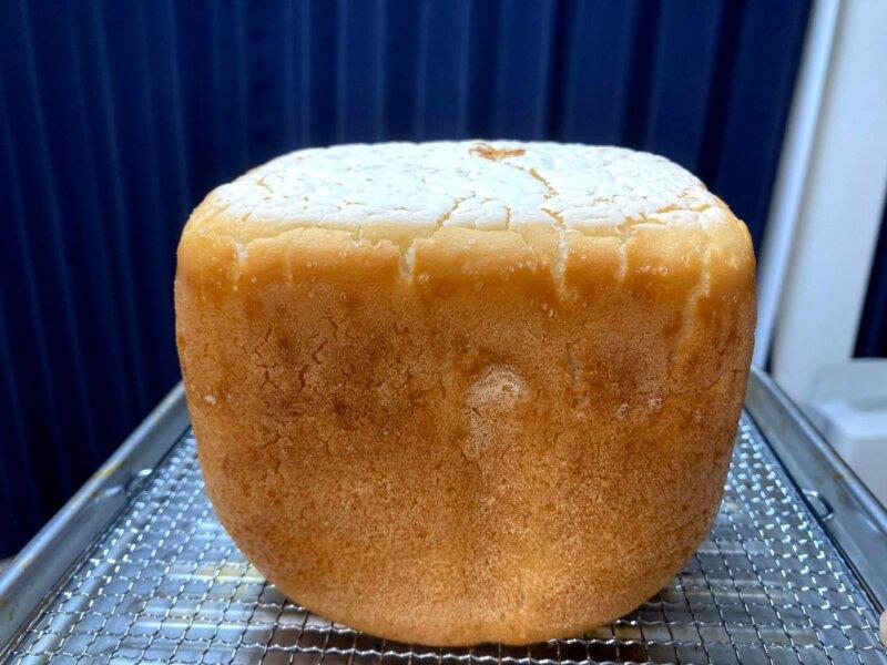 1回目より高さが出なかったパン用米粉「ミズホチカラ」で作る米粉パン