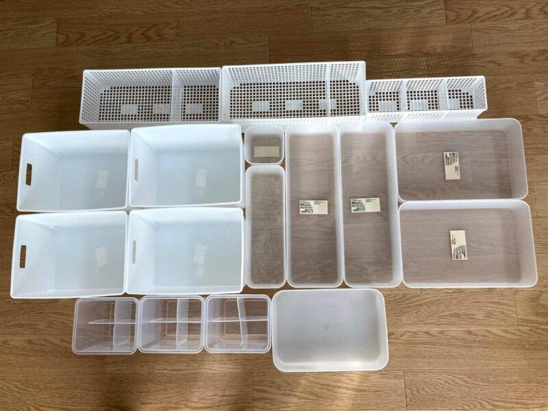 冷蔵庫整理の為に購入したセリア&無印収納グッズ