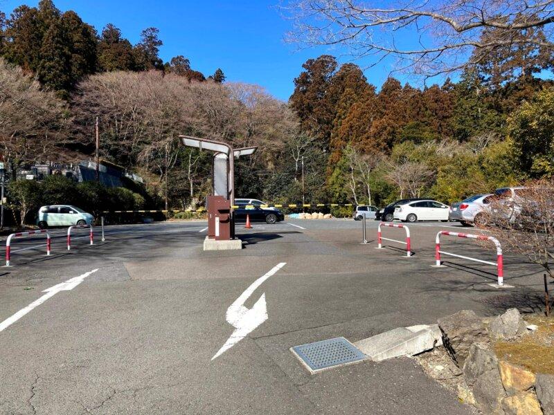 松島法雲庵駐車場