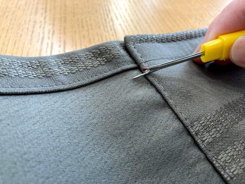 縫い目をほどくのにとっても便利なリッパー