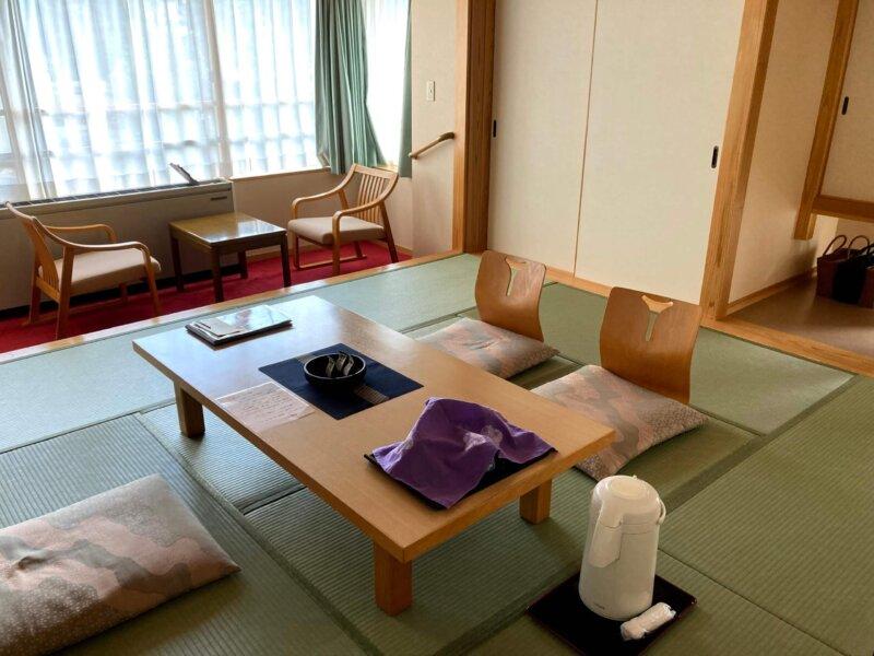 『鳴子ホテル』青葉館のお部屋
