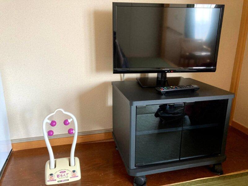 『鳴子ホテル』お部屋のテレビ